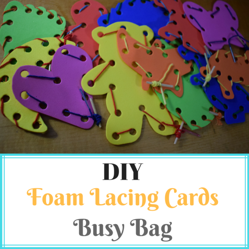how to make lacing cards